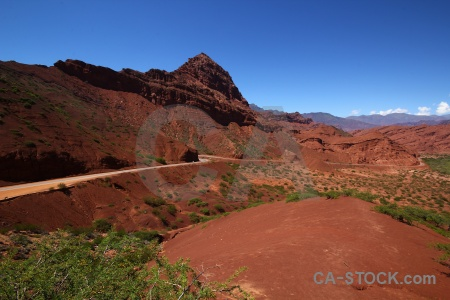 Quebrada de las conchas south america landscape rock salta tour 2.