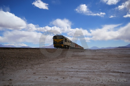 Railway landscape altitude mountain train.