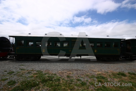 Railway south island sky carriage vehicle.
