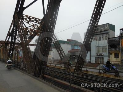 Railway vietnam hanoi building southeast asia.