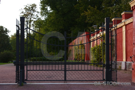 Red gate.