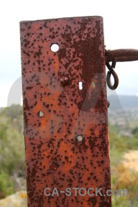 Red white orange texture rust.