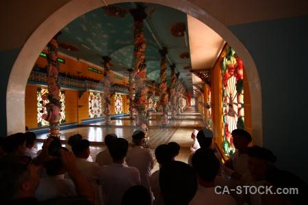 Religion inside asia pillar tay ninh holy see.