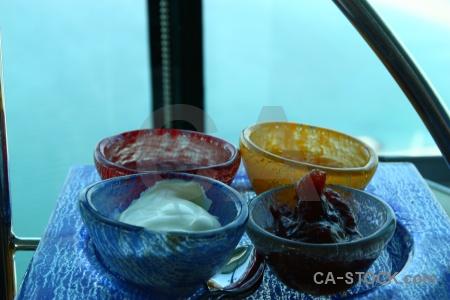 Restaurant bowl asia cream western.