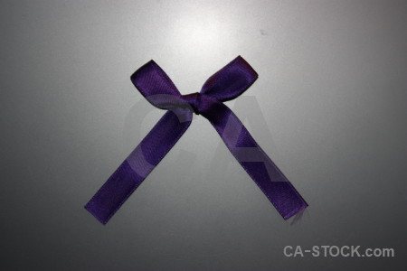 Ribbon object gray.