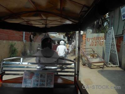 Rickshaw southeast asia tuktuk person auto.