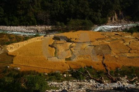 River himalayan south asia nepal modi khola valley.