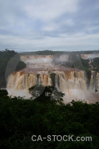 River iguassu falls water unesco iguacu.