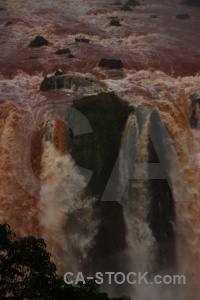 River water iguazu falls brazil unesco.