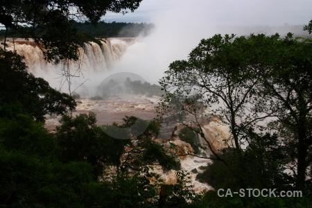 River waterfall iguacu falls iguazu river iguassu.