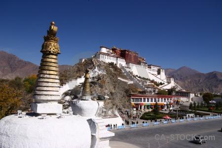 Road china unesco stupa buddhism.