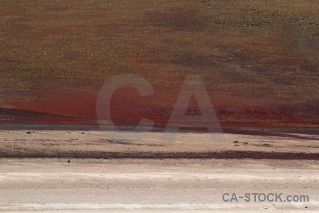 Rock altitude andes laguna verde bolivia.