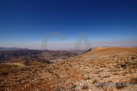 Rock asia desert western sky.