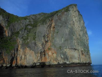 Rock asia sky cliff ko phi ley.