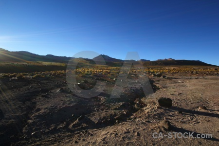 Rock atacama desert chile andes south america.