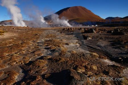 Rock atacama desert sky chile landscape.