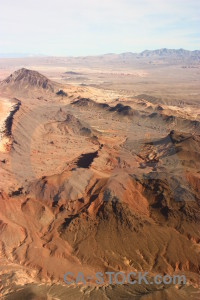 Rock brown desert landscape mountain.