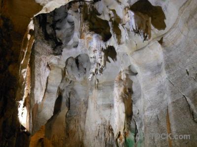 Rock cave cueva de las calaveras benidoleig javea.