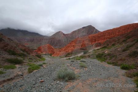Rock cerro de los siete colores argentina south america salta tour.