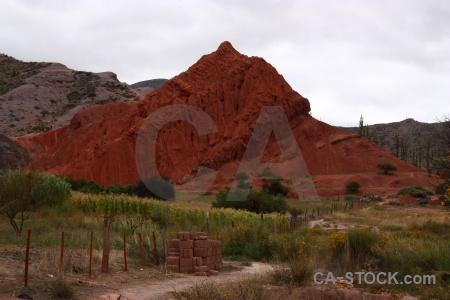 Rock cerro de los siete colores landscape south america salta tour.
