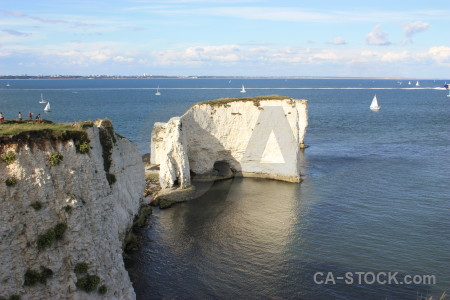 Rock cliff.