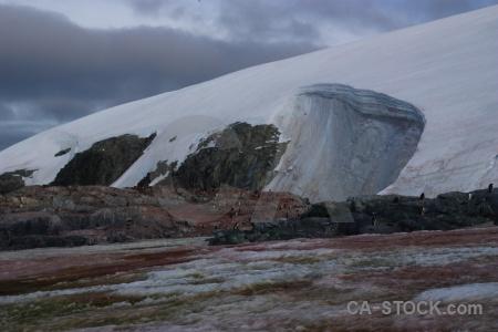 Rock cloud antarctica wilhelm archipelago antarctic peninsula.