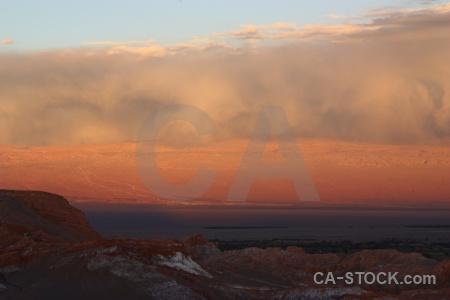 Rock cordillera de la sal valley of the moon desert south america.