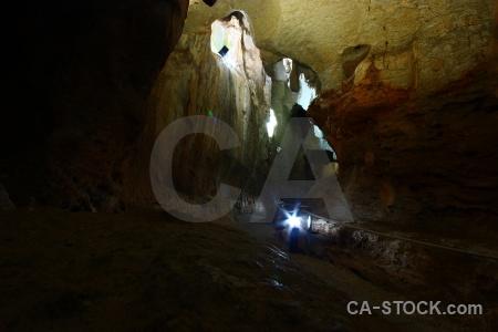 Rock cueva de las calaveras cave benidoleig javea.