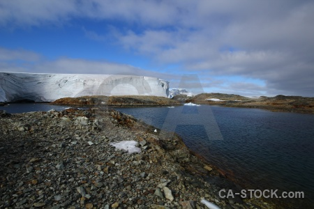 Rock day 8 water antarctica cruise landscape.