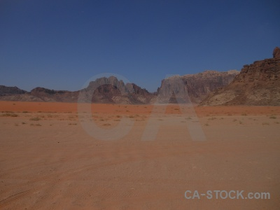 Rock desert sky sand wadi rum.