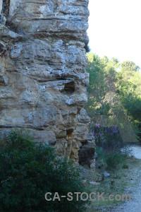 Rock europe javea spain cliff.
