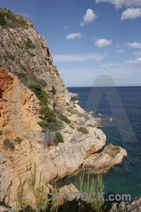Rock europe spain javea water.