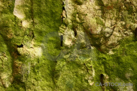 Rock green stone texture.