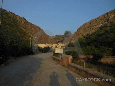 Rock jaipur south asia india sky.
