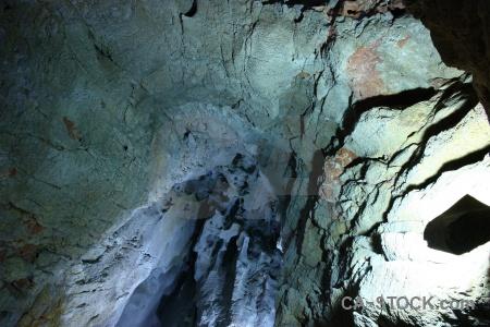 Rock javea benidoleig cueva de las calaveras cave.