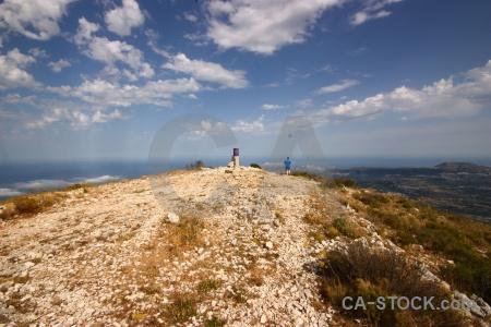 Rock javea montgo mountain cloud.