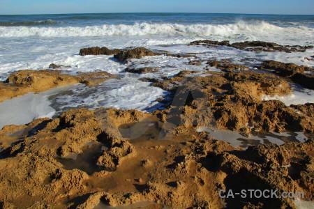 Rock javea wave sea spain.