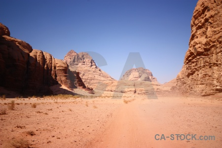 Rock jordan bedouin western asia wadi rum.