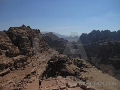 Rock jordan nabataeans western asia ancient.