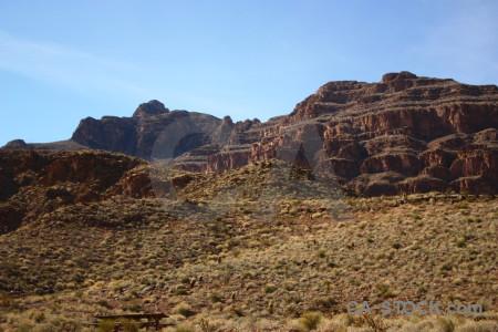 Rock landscape desert brown mountain.