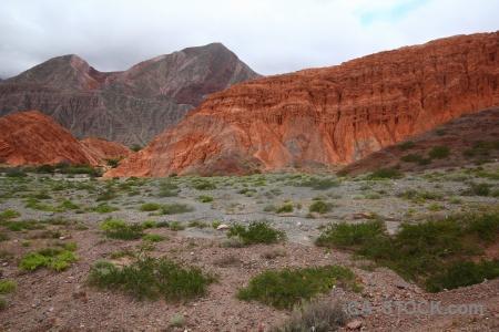 Rock landscape salta tour sky cerro de los siete colores.
