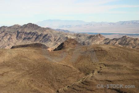 Rock landscape white mountain desert.