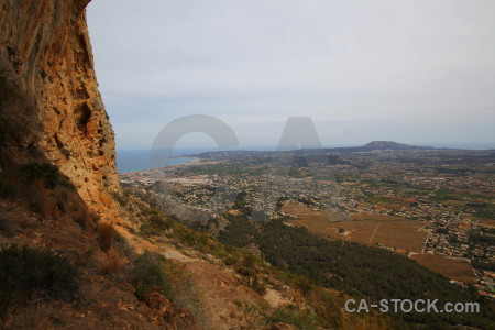 Rock montgo eye climb cave europe javea.