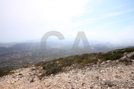 Rock montgo plant cloud javea.