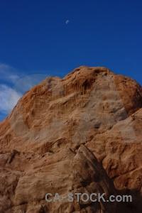 Rock moon calchaqui valley quebrada de las flechas south america.