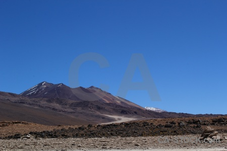 Rock mountain landscape altitude andes.