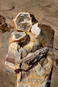Rock new zealand koekohe beach sand south island.