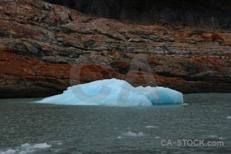 Rock patagonia perito moreno ice argentina.