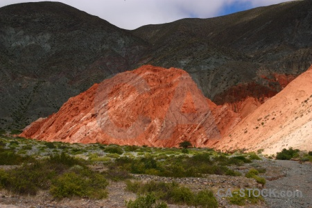 Rock purmamarca sky mountain south america.