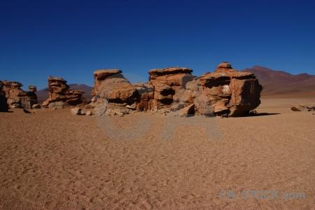 Rock rock formation siloli desert bolivia landscape.